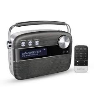 Saregama Carvaan 6 W Bluetooth Home Audio Speaker Hindi(Charcoal Grey)